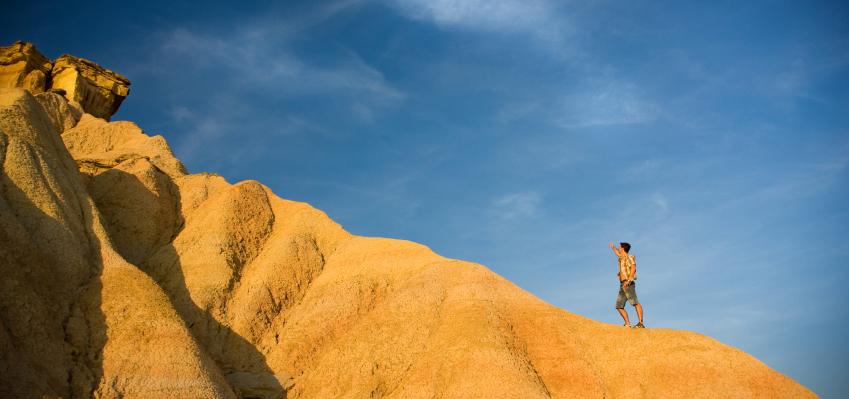 Koersbepalen-koers-berg